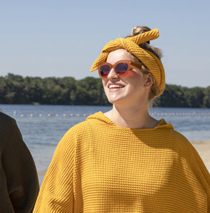 zeemeermantel ochre yellow