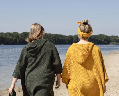 zeemeermantel army green en ochre yellow