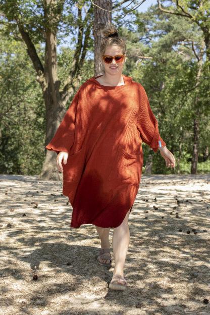 zeemeermantel brick orange