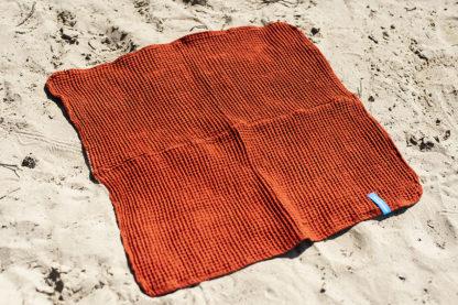 zeemeerdoek brick orange